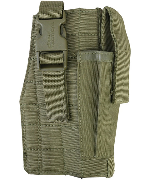 Molle gun holster w/mag pouch COYOTE Airsoft Kombat UK - The Back Alley Army Store