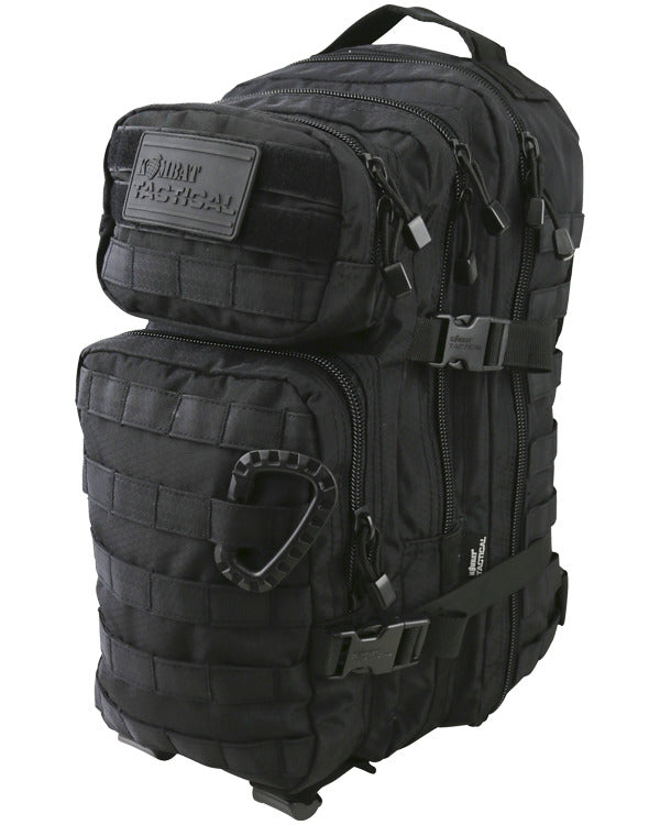 Hex-stop small assault pack 28 litre-Black ripstop tactical backpack