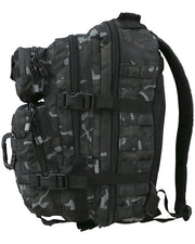 Hex-stop small assault pack 28 litre-BTP Black  Bag Kombat UK - The Back Alley Army Store