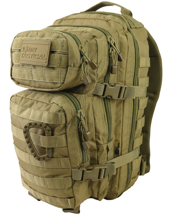 Hex-stop small assault pack 28 litre-Coyote ripstop tactical backpack