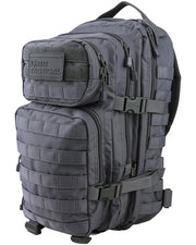 Hex-stop small assault pack 28 litre-Gunmetal  Bag Kombat UK - The Back Alley Army Store