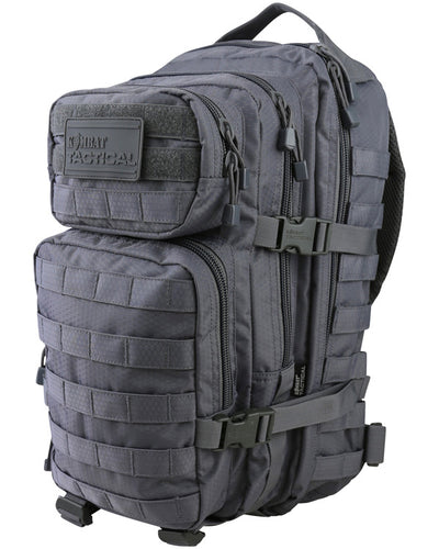 Hex-stop small assault pack 28 litre-Gunmetal ripstop tactical assault pack backpack
