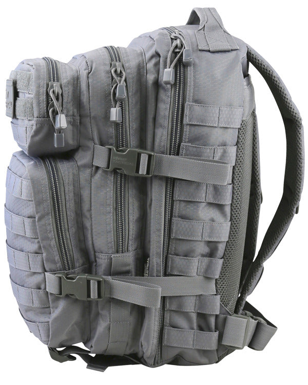 Hex-stop small assault pack 28 litre-Gunmetal grey ripstop tactical assault pack backpack