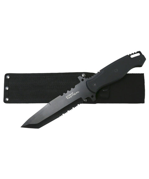 HK6211-120B BLACK SHEATH  knife Kombat Tactical - The Back Alley Army Store