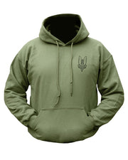 S.A.S Hoodie M / Olive Clothing Kombat UK - The Back Alley Army Store