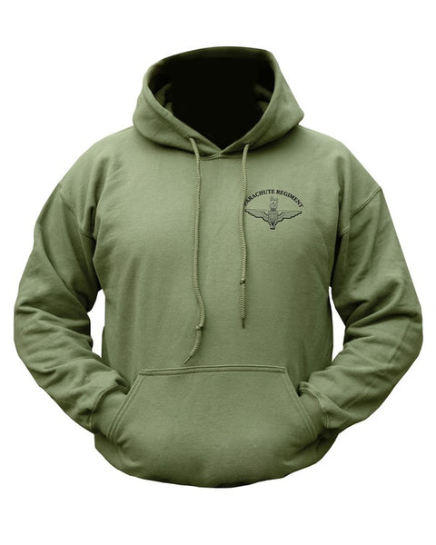 Parachute regiment hoodie  Clothing Kombat UK - The Back Alley Army Store