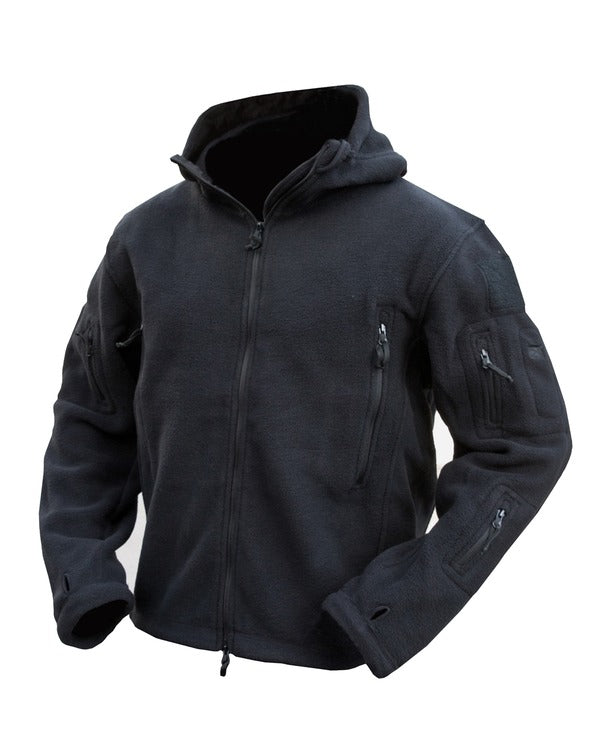Recon tactical hoodie-Black  Clothing Kombat UK - The Back Alley Army Store