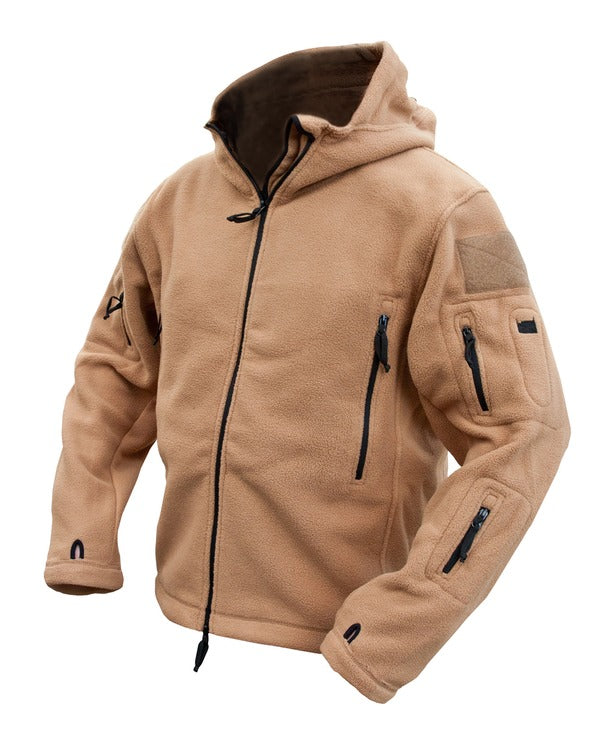 Recon tactical hoodie-Coyote S / Coyote Clothing Kombat UK - The Back Alley Army Store