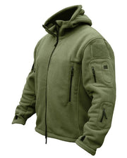 recon tactical fleece jacket olive green kombat tactical