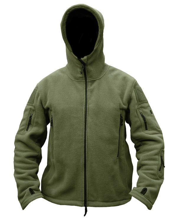 Recon tactical hoodie-Olive green  Clothing Kombat UK - The Back Alley Army Store
