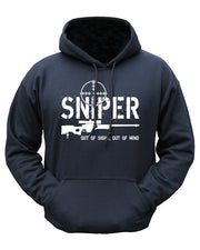 Sniper out of sight hoodie  Clothing Kombat UK - The Back Alley Army Store