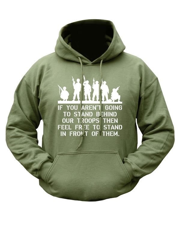 Stand behind our troops  Clothing Kombat UK - The Back Alley Army Store