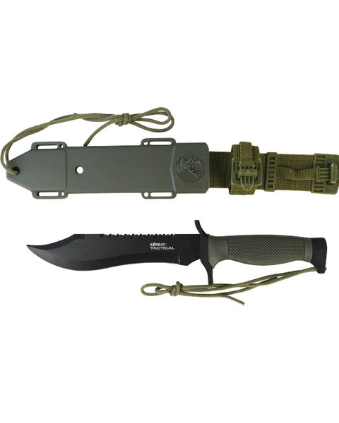 Hunting Bowie  knife Kombat Tactical - The Back Alley Army Store