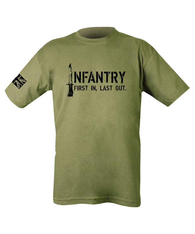 Infantry T-shirt  Clothing Kombat UK - The Back Alley Army Store