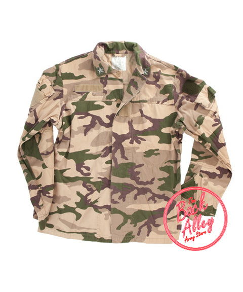 "Italian M92 desert ""Somalian"" field jacket  Clothing Sourced by Back Alley - The Back Alley Army Store"