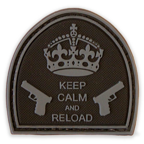 Keep Calm and Reload  Airsoft Sourced by Back Alley - The Back Alley Army Store