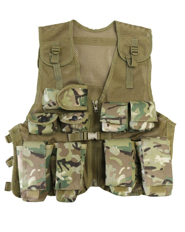 kids assault vest btp camo