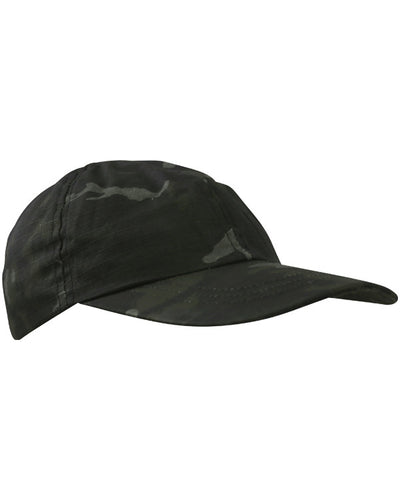 kids baseball cap black camo