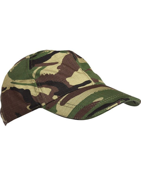 Kids baseball cap-DPM  Clothing Kombat UK - The Back Alley Army Store