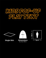 Kids pop up play tent-BTP  kids Kombat UK - The Back Alley Army Store