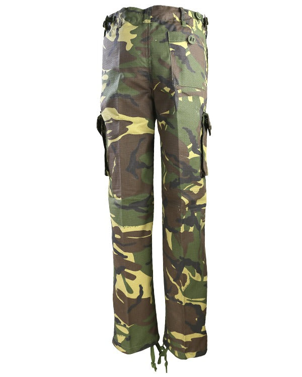 kids camo trousers dpm woodland