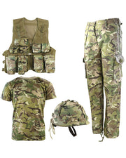 Kids #1 Army combo set-BTP  kids Kombat UK - The Back Alley Army Store