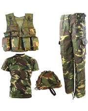 Kids #1 Army combo set-DPM  kids Kombat UK - The Back Alley Army Store