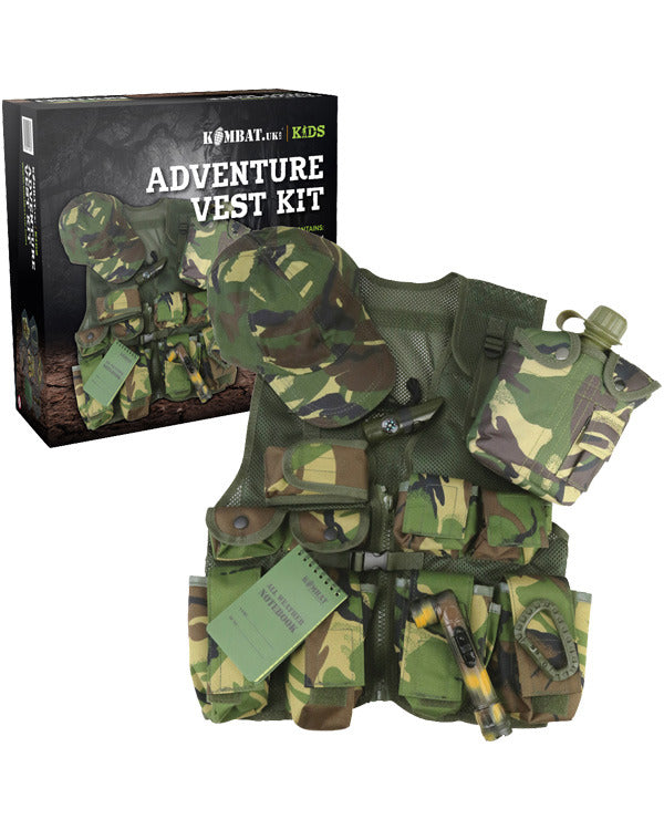 Kids adventure vest set-DPM