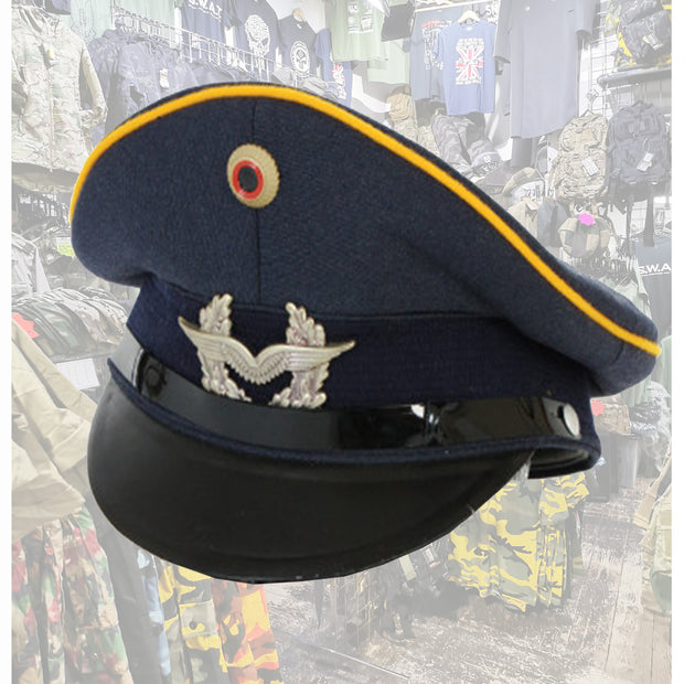 Luftwaffe peaked cap  Clothing Sourced by Back Alley - The Back Alley Army Store