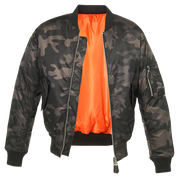 BRANDIT MA-1 Jacket-Dark camo  Clothing Brandit - The Back Alley Army Store