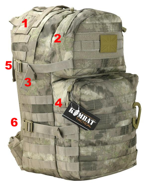Medium Assault Pack 40ltr-Smudge