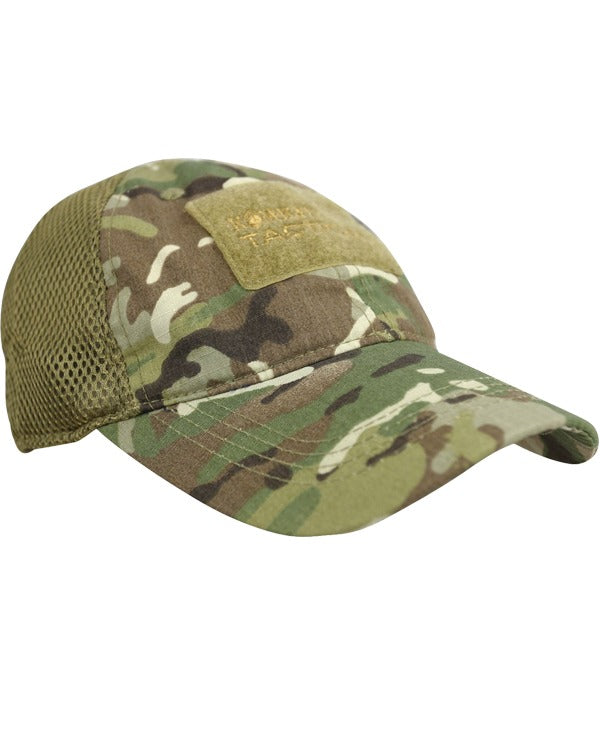 MESH operators cap-BTP british camo. baseball cap with breathable mesh back and velcro