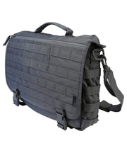 Medium messenger bag-gunmetal grey 20 litre laptop tactical bag