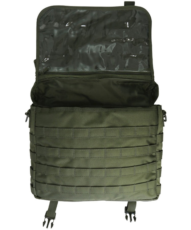 Medium messenger bag-Olive green 20 litre
