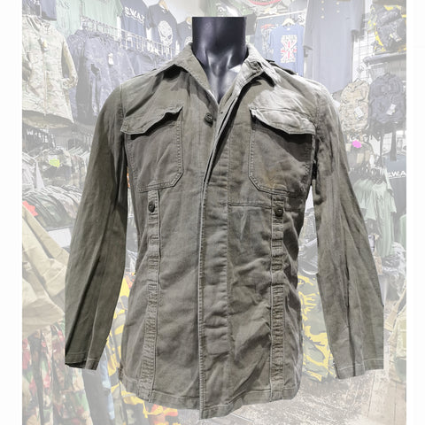 German Army moleskin field jacket  Clothing Sourced by Back Alley - The Back Alley Army Store