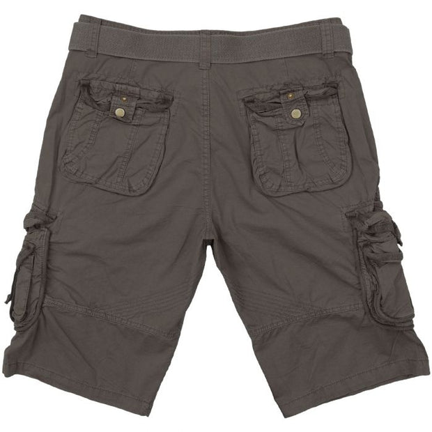 Vintage Survival shorts-Washed black