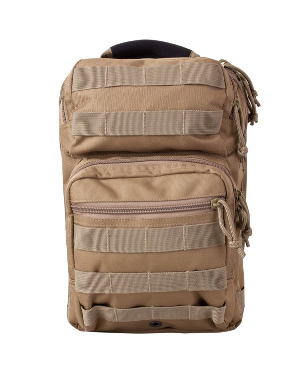 Mini Recon Shoulder Pack 10ltr COYOTE Bag Kombat UK - The Back Alley Army Store
