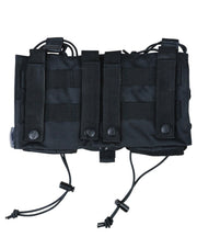 Modular fast rig-Black multiple mag pouches