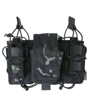 modular fast rig btp black camo multiple ammo pouches one rig