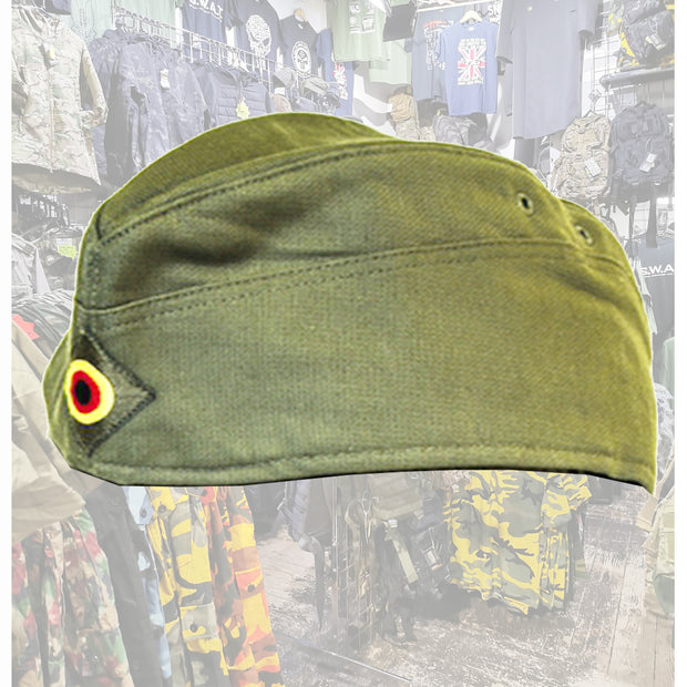 German Army moleskin sidecap  Clothing Sourced by Back Alley - The Back Alley Army Store