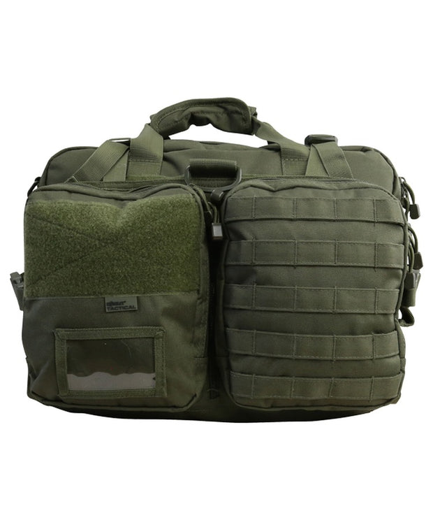 navigation bag olive green og od molle front panel