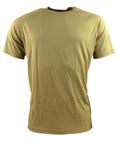 Operators mesh T-shirt-Coyote