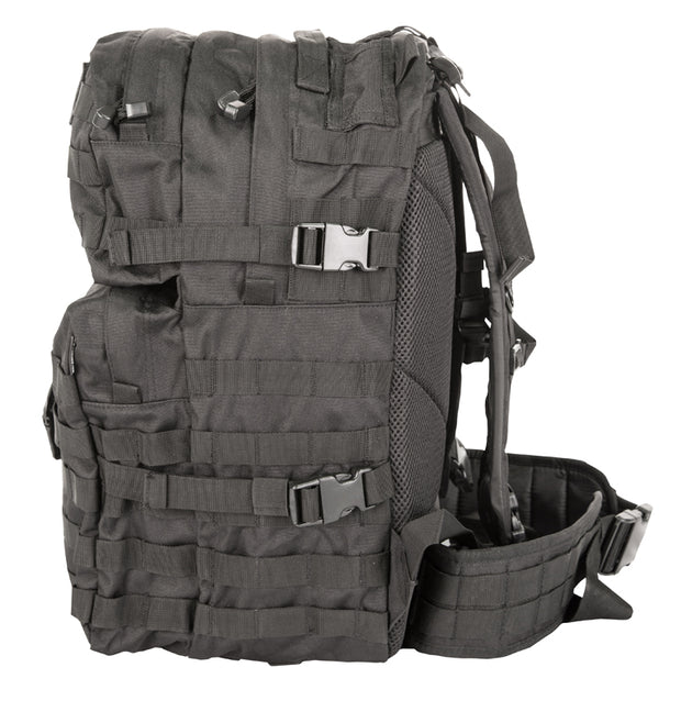 Medium Assault Pack 40ltr<br>Black airsoft tactical bag