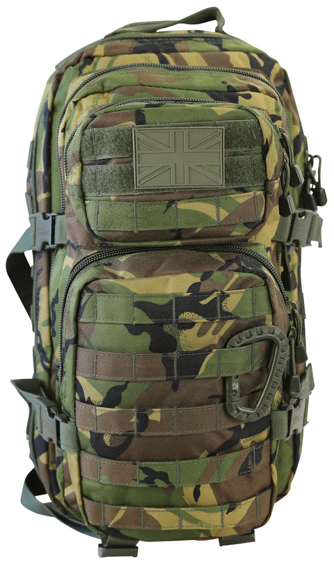 Small Molle Assault Pack 28ltr DPM  Bag Kombat UK - The Back Alley Army Store