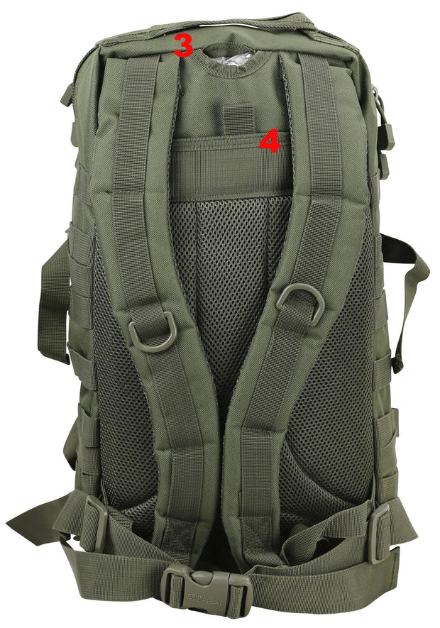 Small Molle Assault Pack 28ltr Olive