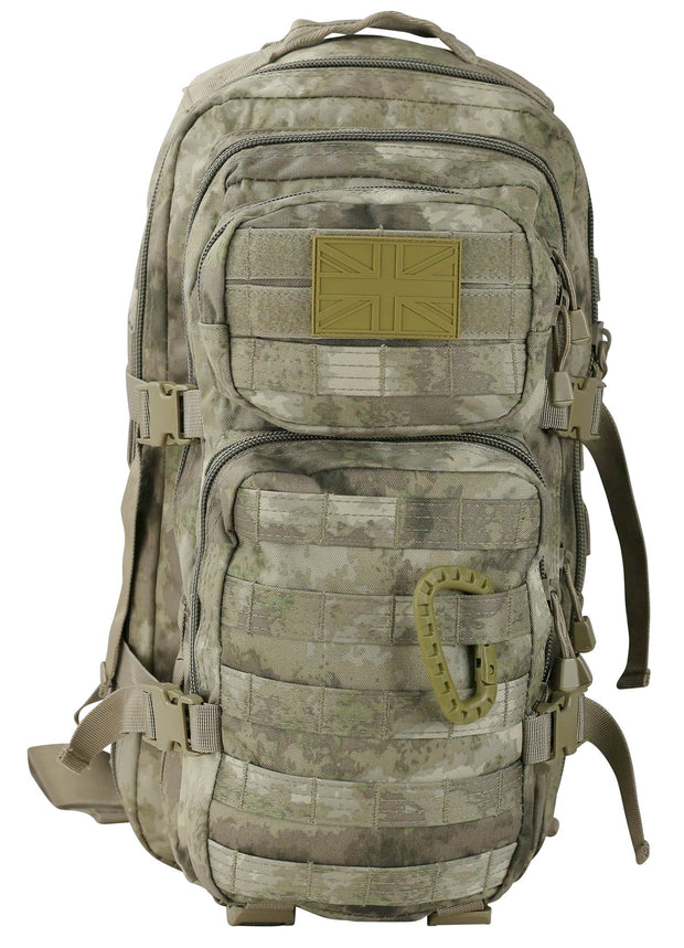 Small Molle Assault Pack 28ltr Smudge
