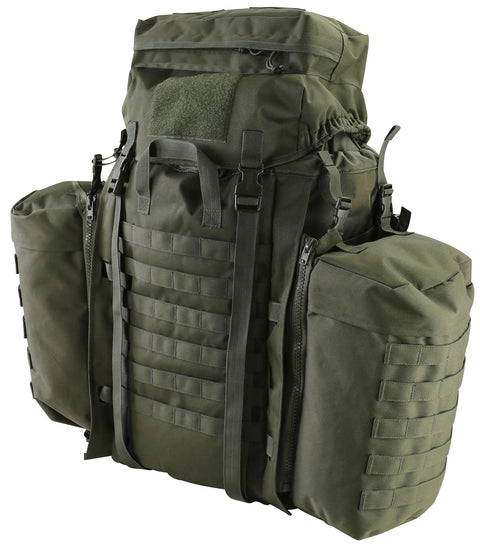 Tactical Assault Pack 90ltr-Olive Olive Bag Kombat UK - The Back Alley Army Store