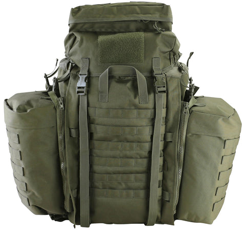 Tactical Assault Pack 90ltr-Olive  Bag Kombat UK - The Back Alley Army Store