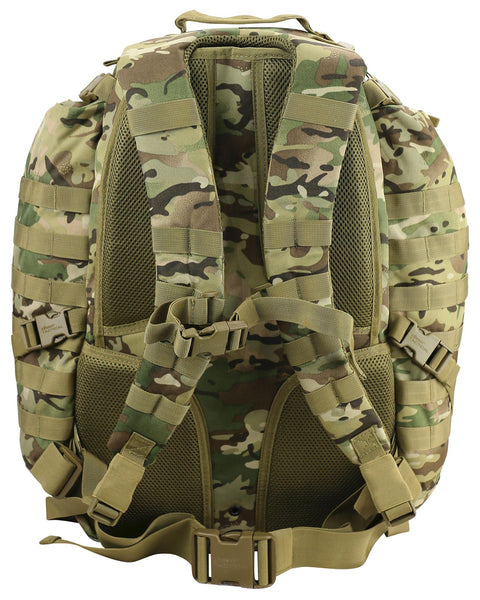 Commander Pack 70ltr BTP. waist strap and chest/sternum strap. carry handle