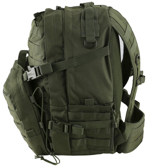 Recon Pack 50ltr-Olive  Bag Kombat UK - The Back Alley Army Store